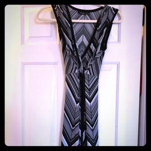 Black, white and gray Apt 9 dress, size small.